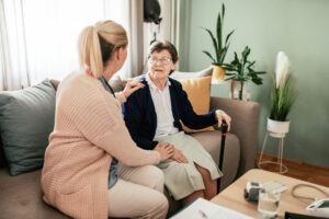 A long-term health condition can be effectively managed with help from home care.