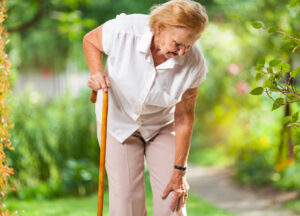 Senior joint pain can increase the risk of falls in the elderly.